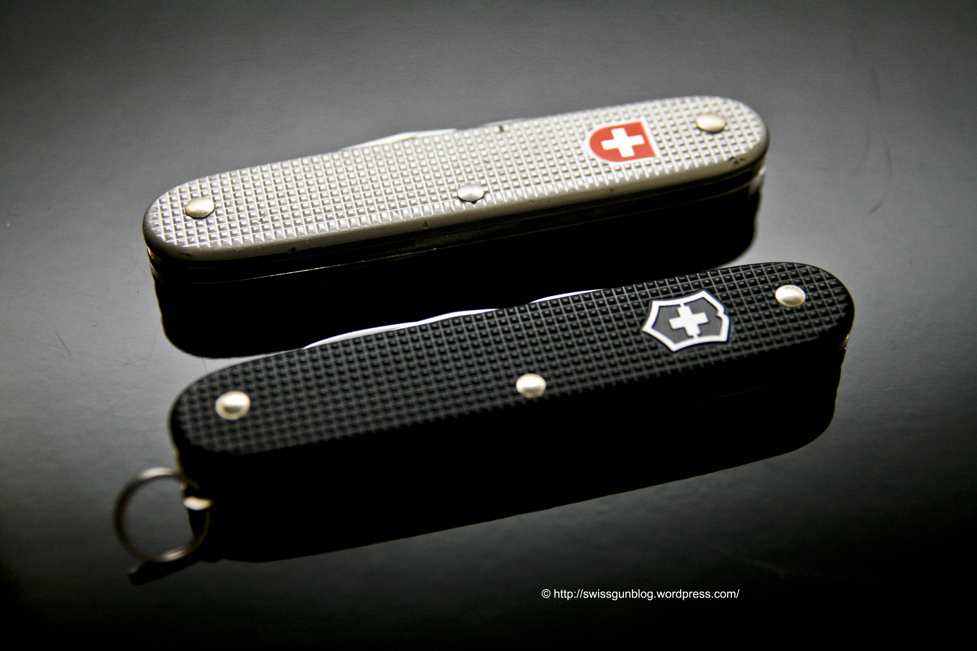 Victorinox Black Alox Pioneer The Swiss Gun Blog